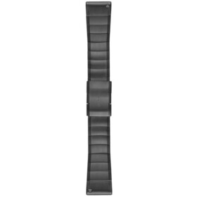Garmin fenix 5x/3 Metallarmband QuickFit 26mm grey